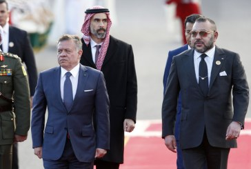 Arrivée au Maroc du Roi Abdallah II de Jordanie