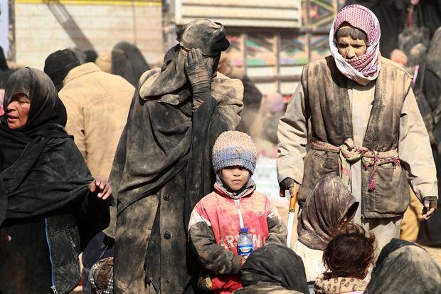 Syrie : Quelque 5.000 personnes sont présentes dans l'ultime réduit de l'EI
