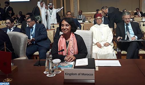 Le Maroc poursuit ses efforts pacifiques pour soutenir les droits des Palestiniens