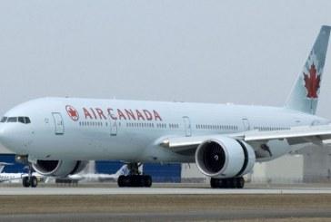 La compagnie Air Canada annule ses vols vers New-Delhi