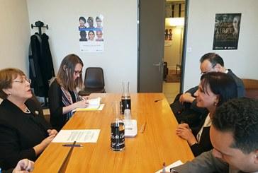 Bouayach s'entretient à Genève avec la Haute Commissaire aux droits de l'homme