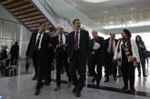 Gares LGV: Le président de la BID se félicite du niveau de réalisation du projet