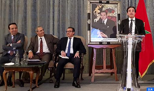 Londres: Benatiq rencontre des cadres et des compétences marocains du Royaume Uni