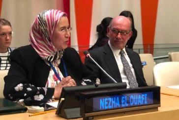 El Ouafi met en avant les réalisations du Maroc en matière d'adaptation au changement climatique