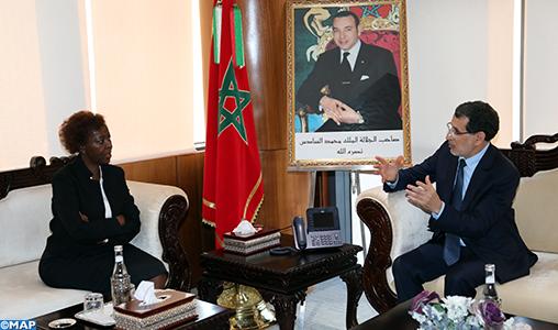 La Secrétaire générale de l'OIF salue le rôle du Maroc en faveur de l'Afrique et des Africains