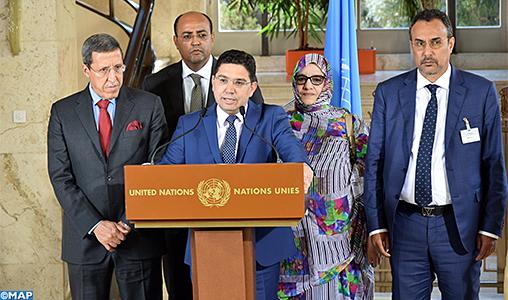 2ème round de Genève : le Maroc appelle les autres parties à adhérer au processus de l'ONU