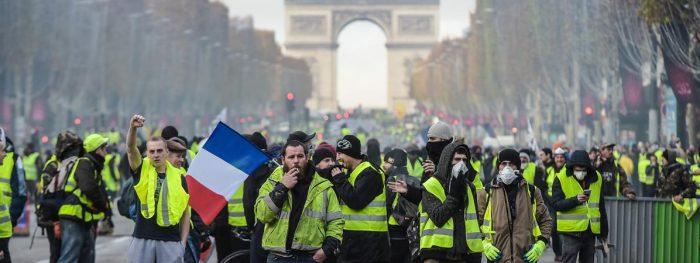 «Gilets jaunes» : participation la plus faible en 17 semaines de mobilisation