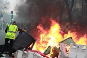 «Gilets jaunes» : 200 millions d'euros de dégâts en 18 actes de mobilisation