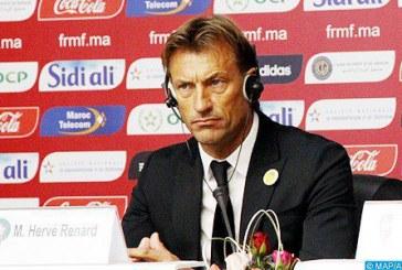 Hervé Renard dévoile la liste des joueurs retenus pour les matchs contre le Malawi et l'Argentine