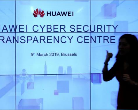 Centre de cybersecurité de Huawei à Bruxelles