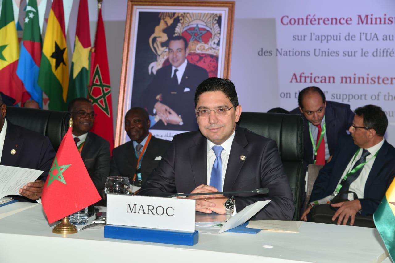 Conférence Ministérielle Africaine : Bourita plaide pour une Afrique sereine
