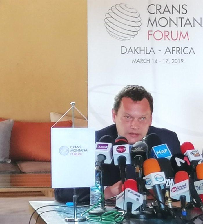Dakhla: Forum Crans Montana, coup d'envoi de la session annuelle