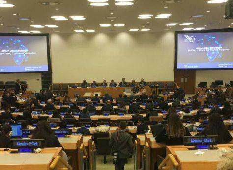 L'Institut Amadeus organise une conférence sur les défis de l'Union Africaine au siège des Nations Unies