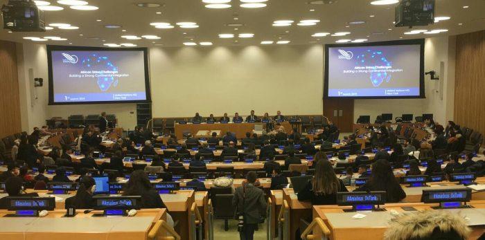Conférence de l'Institut Amadeus sur les défis de l'Union Africaine au siège des Nations Unies