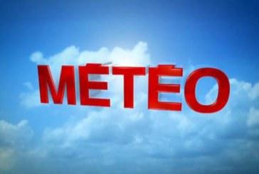Prévisions météorologiques pour la journée du lundi 25 mars 2019