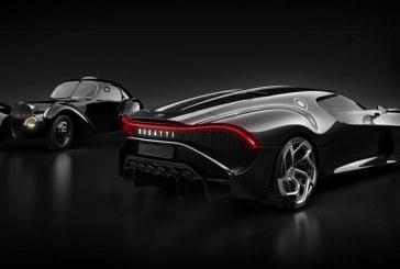 La voiture noire de Bugatti, le bolide le plus cher du monde