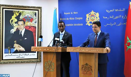 Le ministre somalien