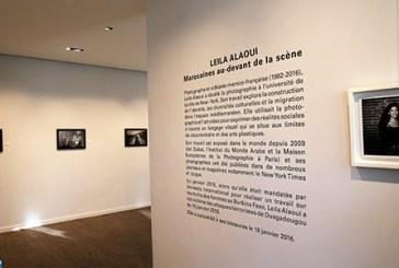 """Vernissage de l'exposition """"Marocaines au-devant de la scène"""" de Leila Alaoui"""