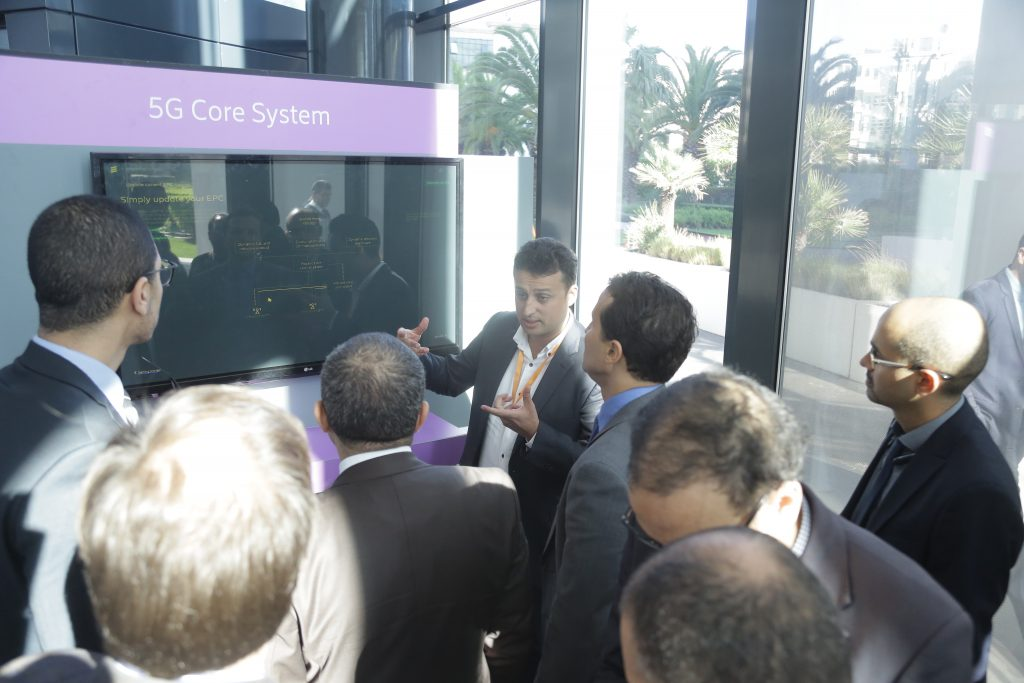 Show 5G from Ericsson and Maroc Telecom in Morocco – Itorm