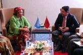 Bourita s'entretient à Marrakech avec la vice-secrétaire générale de l'ONU