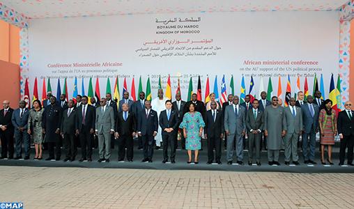 Sahara marocain : Ouverture à Marrakech de la Conférence ministérielle africaine sur l'appui de l'UA au processus de l'ONU