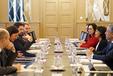 Série d'entretiens à Budapest de Boucetta avec plusieurs responsables hongrois