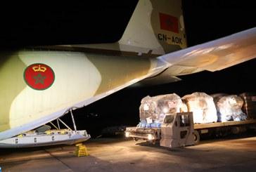 Sur Très Hautes Instructions Royales, envoi d'une aide humanitaire aux victimes du cyclone Idai au Mozambique