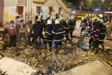 Inde: Au moins 6 morts et 36 blessés dans l'effondrement d'une passerelle à Mumbai