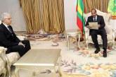 Nizar Baraka remet un message écrit de SM le Roi au Président mauritanien