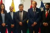 Entretiens sur les moyens de coopération entre les Parlements marocain et andin