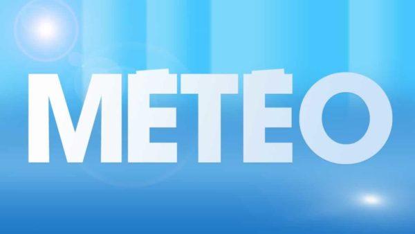Prévisions météorologiques pour la journée du mardi 13 août 2019