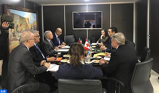 Maroc-Québec: conviennent de poursuivre leurs efforts pour la mise en place de liaisons aériennes directes