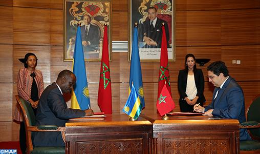 Commission mixte Maroc-Rwanda: Signature de plusieurs accords de coopération