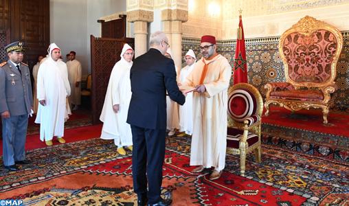 SM le Roi reçoit plusieurs ambassadeurs étrangers