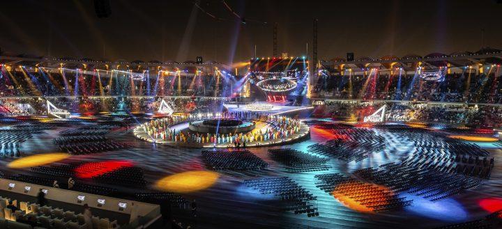 Cérémonie d'ouverture des Jeux Mondiaux d'Eté de Special Olympics à Abu Dhabi
