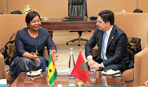 Sahara marocain: Sao Tomé-et-Principe affirme son soutien au Maroc