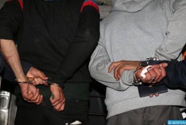 Salé: Arrestation de quatre individus pour leur implication présumée dans une affaire de destruction des biens d'autrui