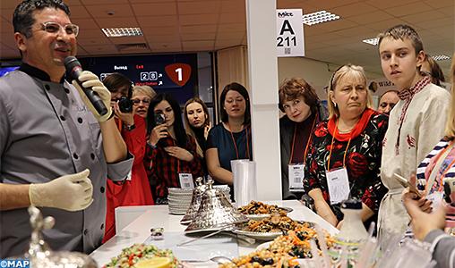 Salon du Tourisme de Moscou: Des visiteurs russes séduits par la gastronomie marocaine