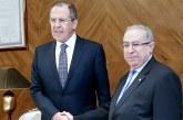 Ramtane Lamamra transmet à Poutine une lettre de Bouteflika