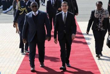 Arrivée au Maroc du Président de la Sierra Leone