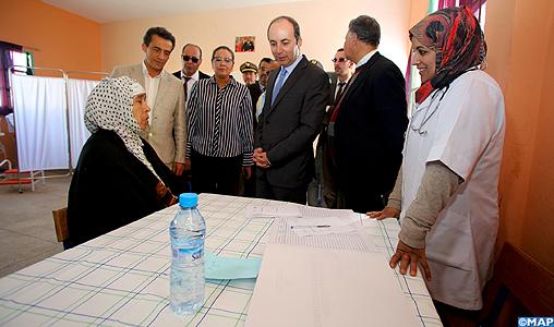 Province d'Al Haouz: Caravane médicale pluridisciplinaire au profit de 1.200 habitants