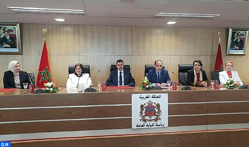 La Présidence du Ministère public s'engage à poursuivre la défense de la cause des femmes
