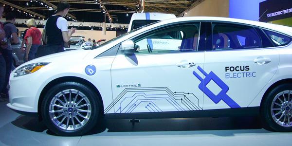 Ford véhicule électrique