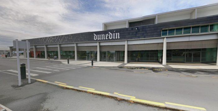 l'aéroport de Dunedin