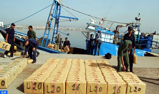 Nador : La Marine Royale arraisonne un cormoran rapide suspecté de trafic de stupéfiants