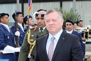 Le Roi Abdallah II quitte le Maroc au terme d'une visite d'amitié et de travail