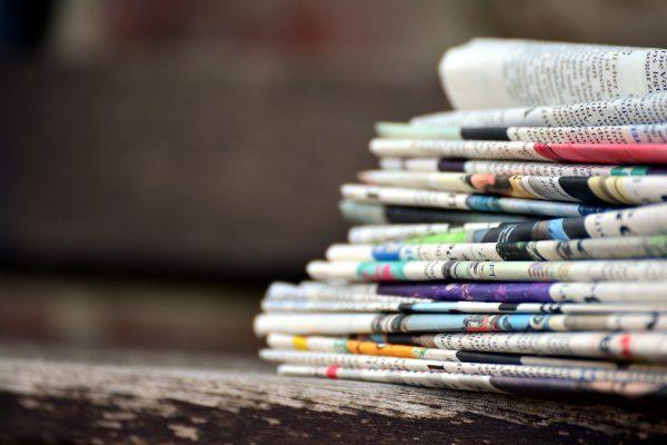 Pile de journaux MD