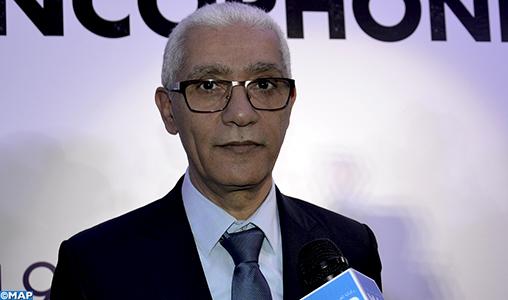 Marrakech accueille la Conférence des Ministres des Sports de la Francophonie