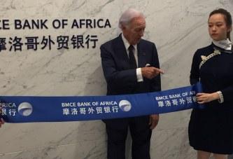 À la tête d'une délégation de son groupe, Othman Benjelloun inaugure une agence BMCE Bank à Shanghai