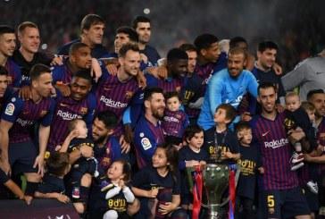 Liga : le Barça sacré champion d'Espagne